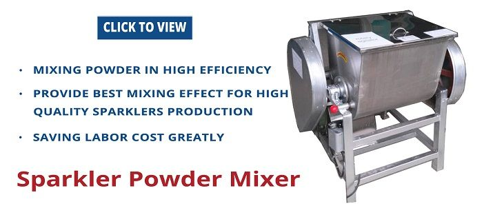 Sparklers Powder Mixer