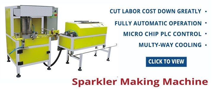 Sparkler Making Machine