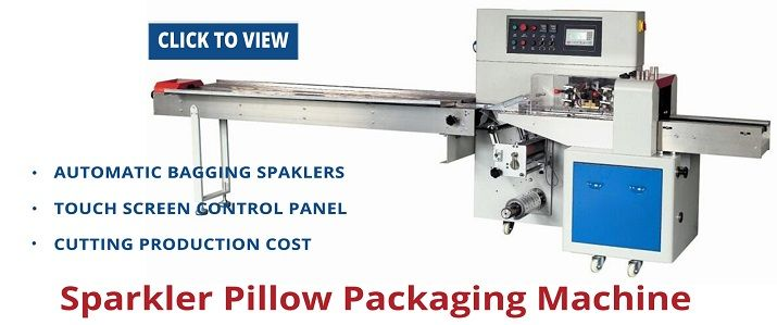 Sparklers Pillow Packaging Machine