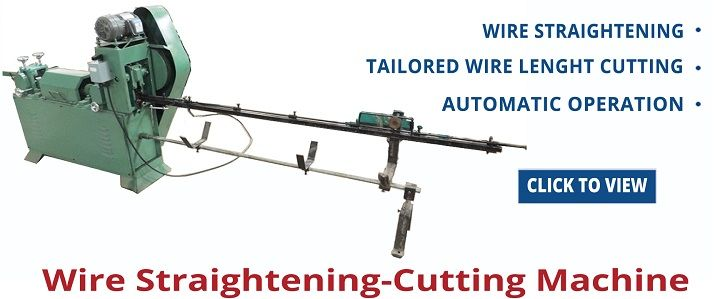 Metal Wire Straightening and Cutting Machine